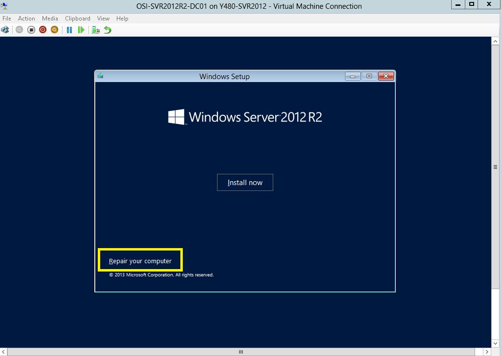Képtalálatok a következőre: windows server 2012 repair pc