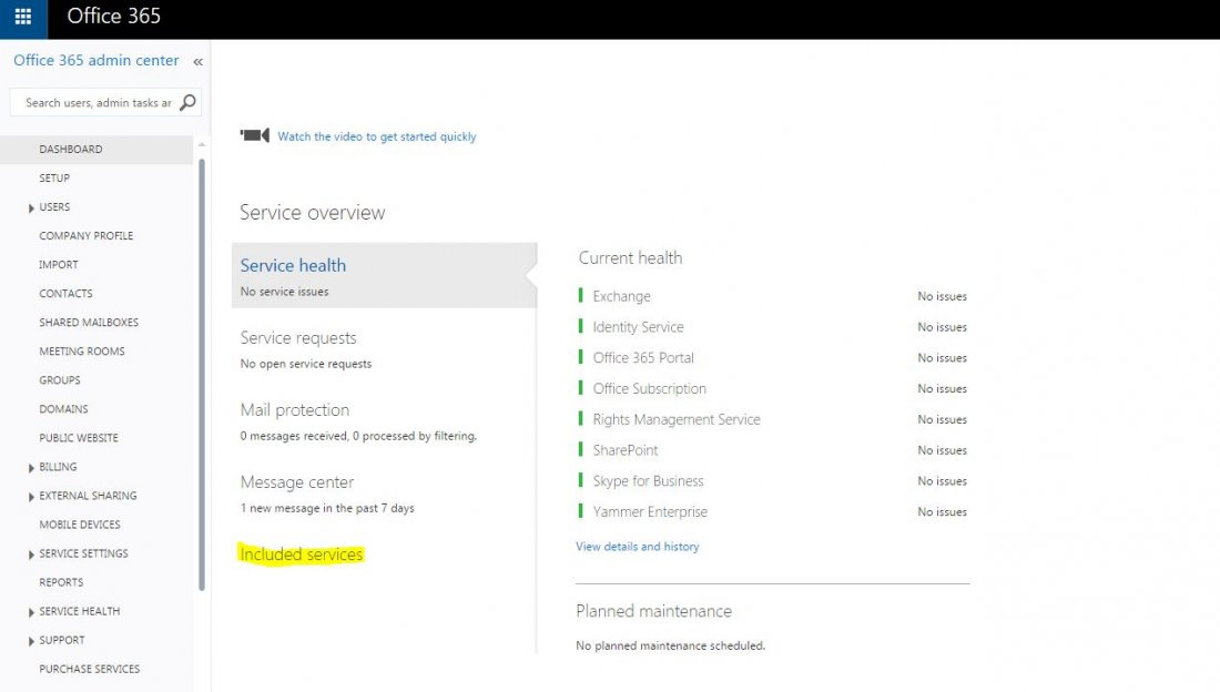 Enable yammer service on office 365 - Activate yammer office 365 ...