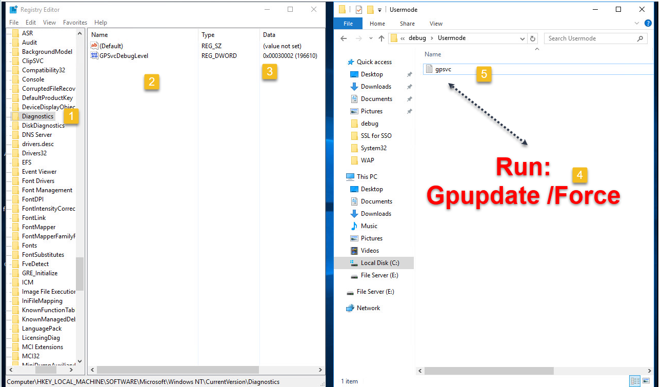 Group Policy Troubleshooting
