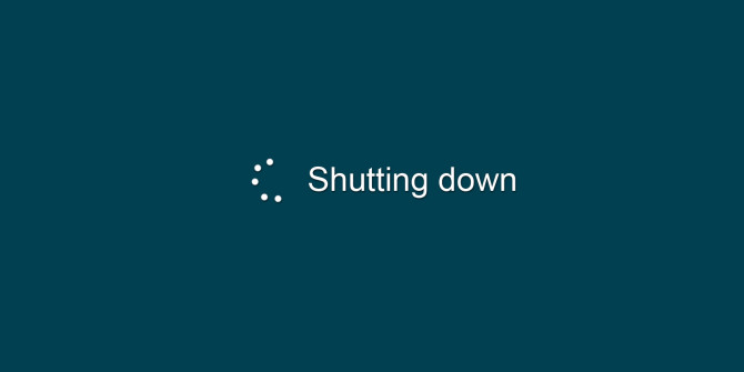 windows shutting down 670x335