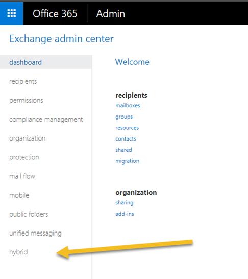 Office 365 Migration Cutover Hybrid IMAP Migration