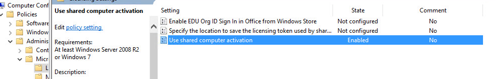 This copy of Microsoft Office cannot be used on a computer running