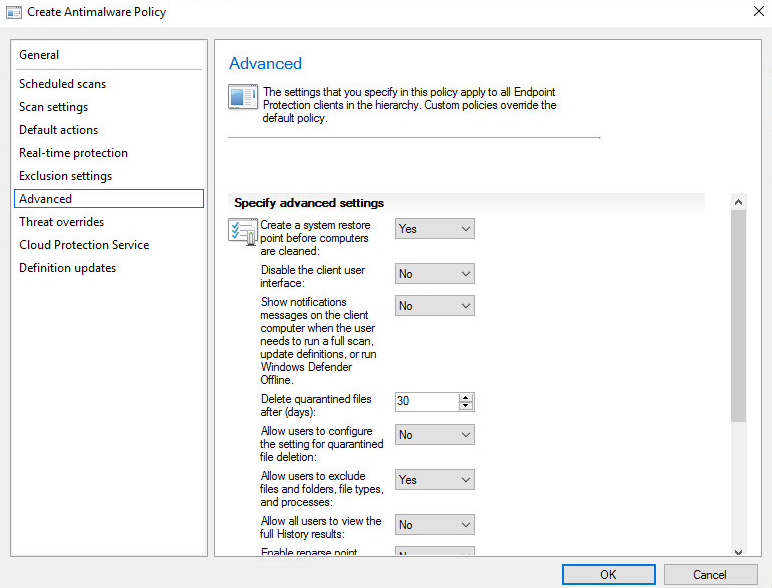 Deploy Endpoint Protection SCCM