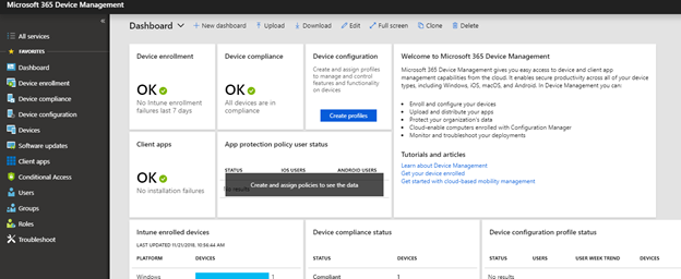Microsoft Intune Abilities