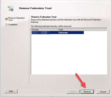 Remove Hybrid Configuration Step by Step