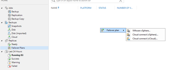 How to operate DR using Veeam